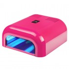 UV lamp STANDARD 2000 36W with timer, pink