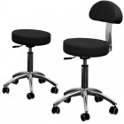 Beautician Stool AM-304, black