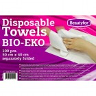 BEAUTYFOR Disposable towels BIO-EKO 100 pcs.