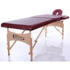 RESTPRO Classic-2 Portable Massage Table, Wine Red