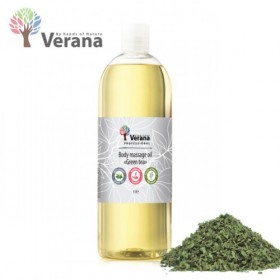 Body massage oil «Green tea» 1L