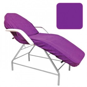 BEAUTYFOR Terry couch cover without face hole, violet