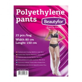 BEAUTYFOR Polyethylene pants 25 pcs.