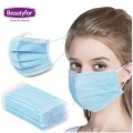 BEAUTYFOR Disposable 3-Layer Protective Face Mask 50 pcs.