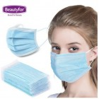 BEAUTYFOR Disposable 3-Layer Protective Face Mask 10 pcs.