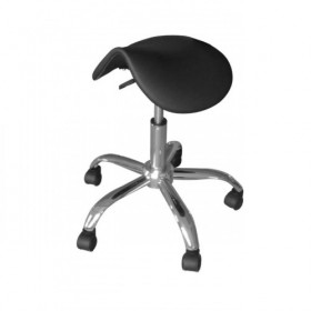 BEAUTYFOR Saddle Stool CH-854S, Black