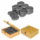 Hot Stone set, 18 pcs.