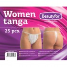 BEAUTYFOR Disposable G-String for Women 25 pcs.