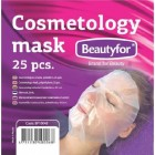 BEAUTYFOR Cosmetology facemask, polyethylene 25 pcs.