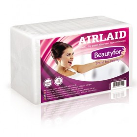 BEAUTYFOR Towel dry paper absorbent type embossed AIRLAID 100 pcs.