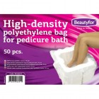 BEAUTYFOR Disposable pedicure bath bags, 50 pcs.