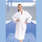 100 % cotton bathrobe