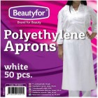 BEAUTYFOR Disposable PE Apron 50 pcs.