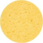 Cleansing Sponge 2 pcs., Ø 80 MM, yellow